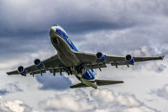 Boeing 747-400F ABC Foto de Stock Royalty Free