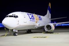 Boeing 737F de Cargoair Photo stock