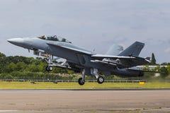 Boeing F/A-18E/F έξοχο Hornet Στοκ Εικόνες