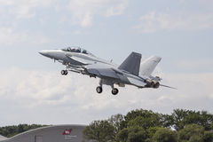 Boeing F/A-18E/F Super Hornet Royalty Free Stock Photography