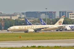 Boeing 777-FFX Fotos de Stock Royalty Free