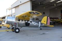 Boeing-Flugzeugmetall mit runder Maschine Stockbild