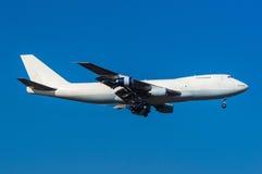 Boeing 747 fraktbåt Royaltyfri Fotografi