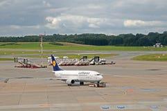 Boeing 737-300 Fulda Fotografering för Bildbyråer