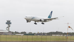 Boeing grande 777-219 ER Imagen de archivo libre de regalías