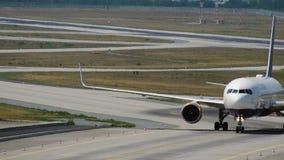Boeing 767 Icelandair linie lotnicze taxiing po przyjeżdżający zdjęcie wideo