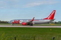 737 boeing jet2 Arkivbilder