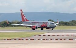 737 boeing jet2 Royaltyfria Bilder