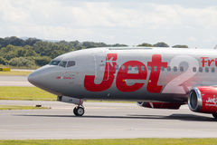 737 boeing jet2 Fotografering för Bildbyråer