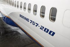 Boeing 757 Jet Airliner photographie stock