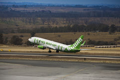 Boeing 737-8K2 (WL) - Takeoff Stock Photography
