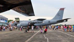 Boeing KC-135 Stratotanker Fotografia de Stock