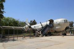 Boeing KC-97 Stratofreighter Masada en el museo israelí de la fuerza aérea Foto de archivo libre de regalías
