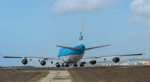 747 boeing klm Arkivfoto