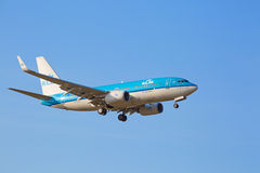 Boeing-737 KLM Stock Photography