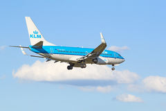 Boeing-737 KLM Royalty Free Stock Photography