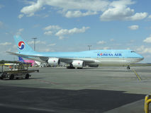 Boeing 747 of the Korean Air Stock Image