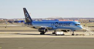 A Boeing 757 from La Compagnie (B0) Stock Photography