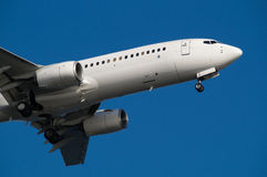 Boeing 737-800. Landing to Haneda International Airport Royalty Free Stock Photography