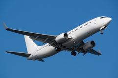 Boeing 737-800. Landing to the Haneda International Airport, Japan Stock Photography