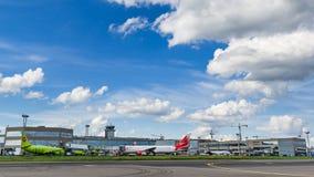 Boeing 767 linhas aéreas do Vim do ER no avental Fotografia de Stock
