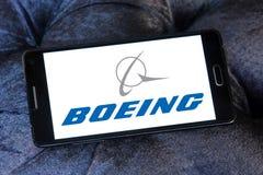 Boeing logo Stock Photos