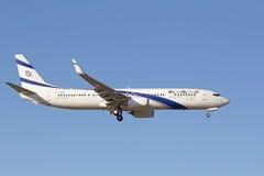Boeing-737 Lufthansa Arkivfoton