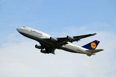 Boeing 747-430 Royalty Free Stock Images