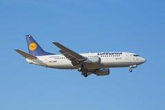 Boeing-737 Lufthansa Stock Image