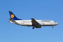 Boeing-737 Lufthansa Stock Photos