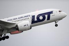 Boeing marcado LOTE 787 Dreamliner fotos de stock