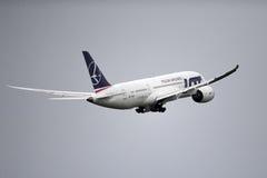 Boeing marqué par SORT 787 Dreamliner Images stock