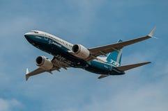 Boeing 737-7 MAX, N7201S. Farnborough International Airshow, July 16, 2018