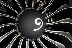 Boeing Max Power Turbine Fan fotos de stock