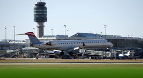 Boeing MD-80 Royalty Free Stock Photo
