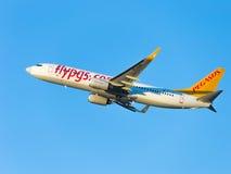 Boeing 737-86N Pegasus Airlines (W) Zdjęcie Royalty Free