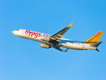 Boeing 737-86N (w) Pegasus Airlines Foto de archivo libre de regalías