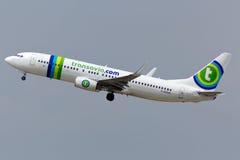 Boeing 737 nivå Arkivfoton