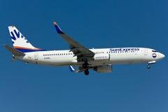 Boeing 737 nivå Arkivbilder