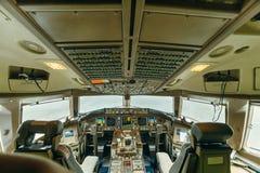 Boeing 767 no aeroporto Imagens de Stock
