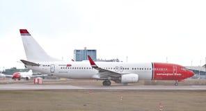 Boeing 737-800 fotografia royalty free