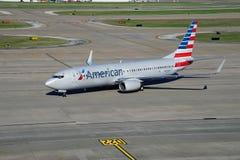 Boeing 737-800 od American Airlines (AA) Zdjęcie Stock