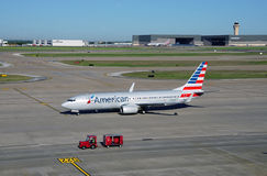 Boeing 737-800 od American Airlines (AA) Obraz Stock