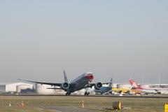 Boeing 777 od porcelanowego ładunku Zdjęcia Royalty Free