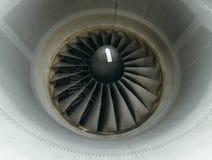 Boeing 767 på flygplatsen Arkivbild