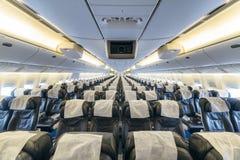 Boeing 767 på flygplatsen Royaltyfri Foto