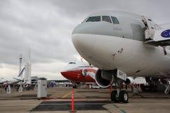 boeing paris för luft 8 747 777 show Fotografering för Bildbyråer