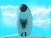 Boeing Passanger Plane Stock Image