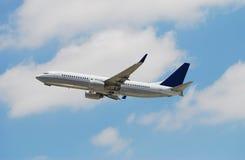 Boeing passenger jetliner Royalty Free Stock Photos