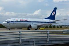 Boeing 737 Plane Stock Photo